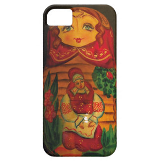 Russia Doll Iphone 5 cover
