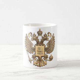 Russia double eagle coffee mug