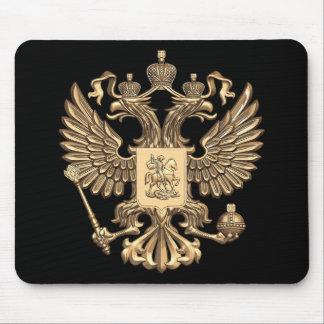 Russia double eagle mouse pad