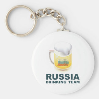 Russia Drinking Team Key Chains
