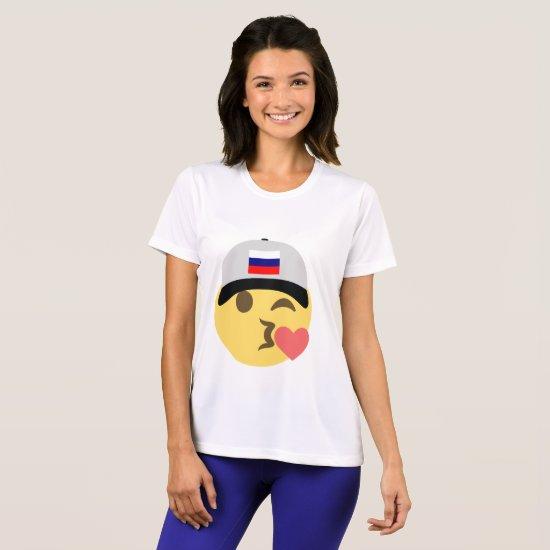 Russia Emoji Baseball Hat T-Shirt