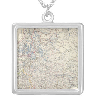 Russia, European Silver Plated Necklace