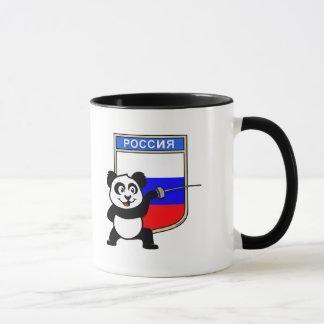 Russia Fencing Panda Mug