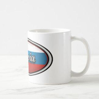 Russia flag 1 coffee mug