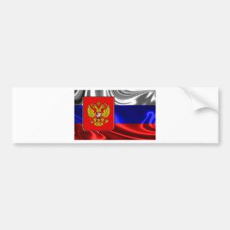 russia-Flag #4 Bumper Sticker