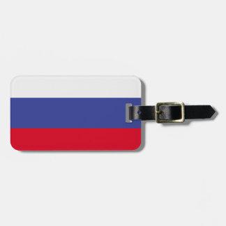 Russia Flag Bag Tag