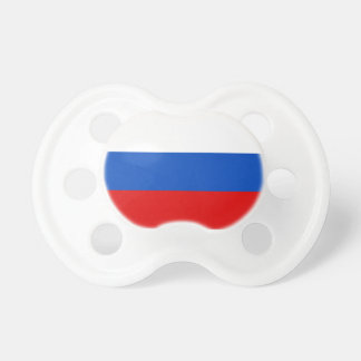 Russia Flag Booginhead Pacifier