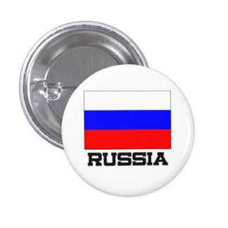 Russia Flag Pinback Buttons