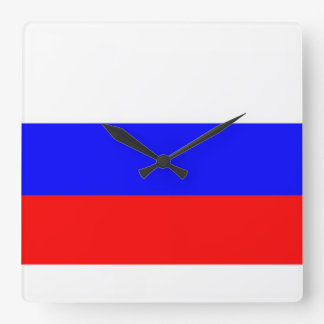 Russia Flag Clocks