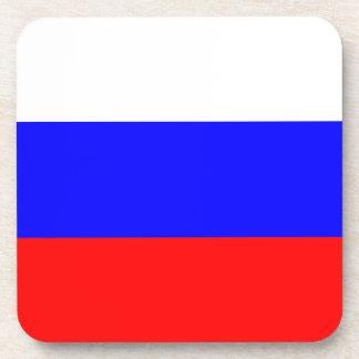 Russia Flag Cork Coaster