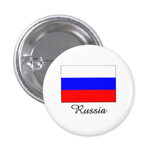 Russia Flag Design Pins