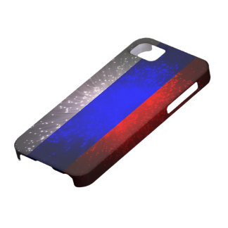 Russia Flag Firework iPhone SE/5/5s Case