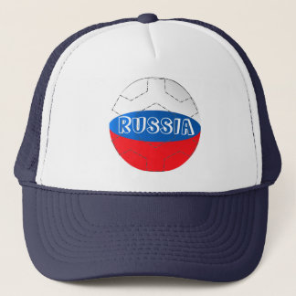 Russia flag  football soccer hat