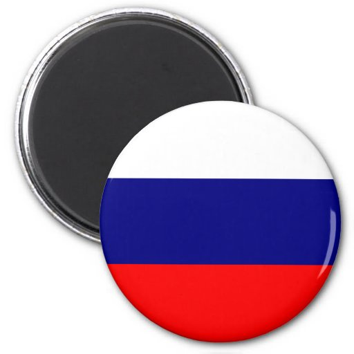 Russia Flag Fridge Magnet