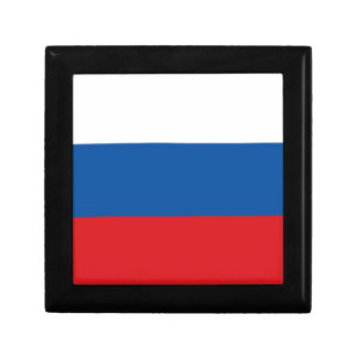 Russia Flag Trinket Box