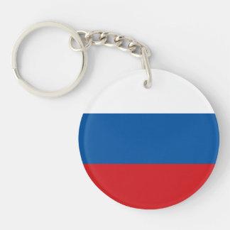 Russia Flag Keychain