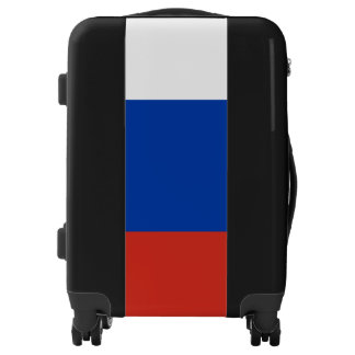 Russia Flag Luggage Suitcase