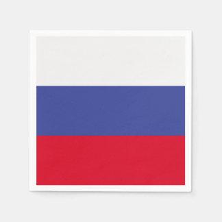 Russia Flag Napkin