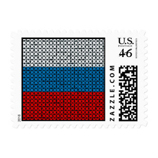 RUSSIA FLAG STAMPS