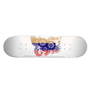 Russia Flag Skate Board Decks