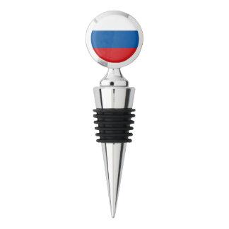 Russia Flag Wine Stopper