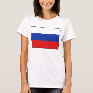 Russia Flag x Map T-Shirt