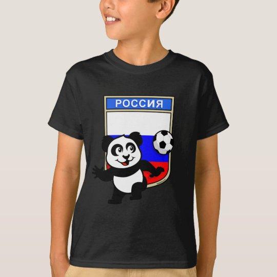 Russia Football Panda T-Shirt