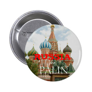Russia for Palin Pinback Button