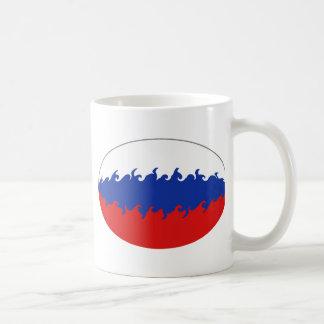 Russia Gnarly Flag Mug