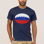 Russia Gnarly Flag T-Shirt