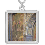 Russia, Golden Ring city of Yaroslavl. 17th Square Pendant Necklace