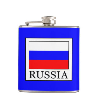 Russia Hip Flask