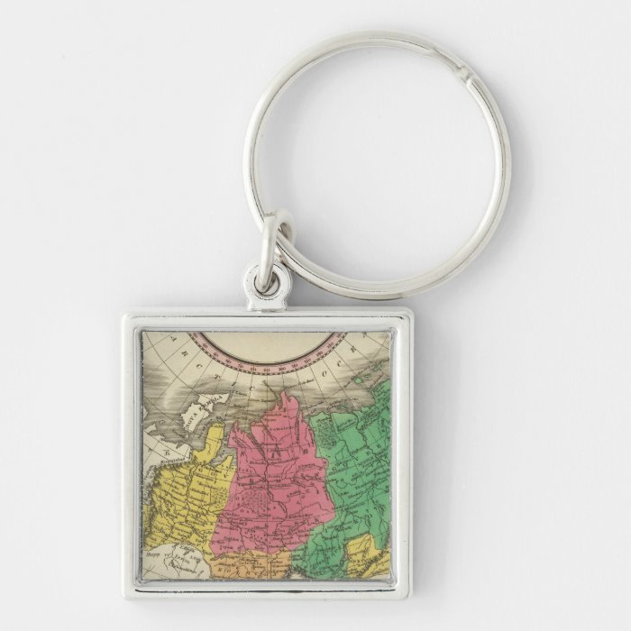 Russia In Asia 2 Keychain