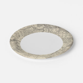Russia in Asia and Tartary Paper Plate