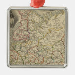 Russia In Europe 2 Christmas Tree Ornament