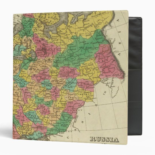 Russia In Europe 3 Ring Binder