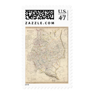 Russia in Europe general map Postage