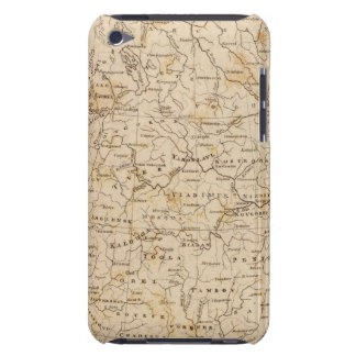 Russia in Europe Map by Arrowsmith iPod Touch Cover