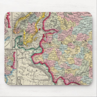 Russia In Europe Sweden And Norway Mousepads