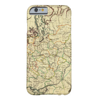 Russia in Europe with boundaries outlined Barely There iPhone 6 Case
