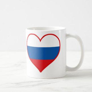 Russia Love Classic White Coffee Mug