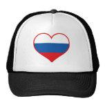 Russia Love Trucker Hat
