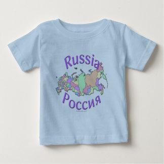 Russia Map Baby T-Shirt