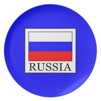 Russia Melamine Plate