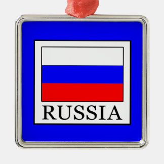 Russia Metal Ornament
