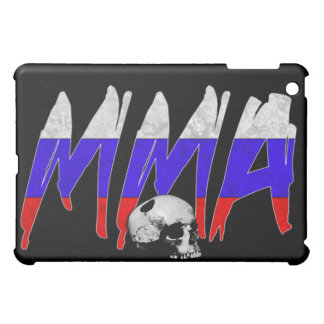 Russia MMA Skull Black iPad Case