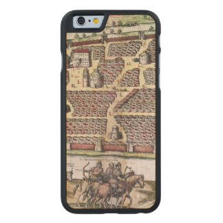 RUSSIA: MOSCOW, 1591 CARVED MAPLE iPhone 6 SLIM CASE