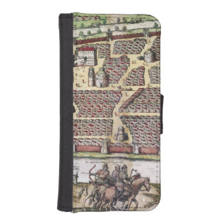 RUSSIA: MOSCOW, 1591 WALLET PHONE CASE FOR iPhone SE/5/5s