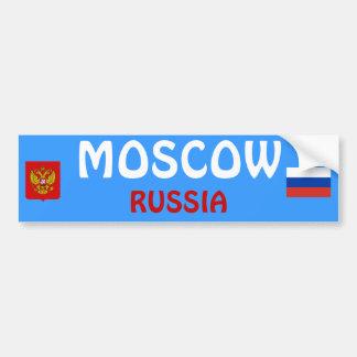 RUSSIA- Moscow Bumper Sticker