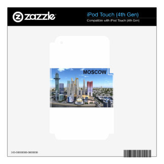 Russia Moscow City Kan K Decal For iPod Touch 4G